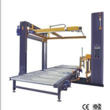 供应在线绕膜机+在线自动覆顶机,全自动在线式上断膜缠绕机在线绕膜