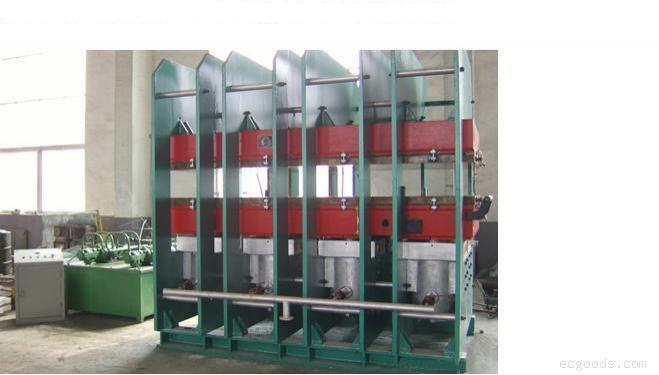 供应多缸平板硫化机_青岛输送带硫化机_橡胶输送带、尼龙输送带/PVG输送带框式结构