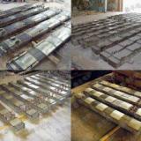 供应硅钢柱 1-60T中频炉专用硅钢柱
