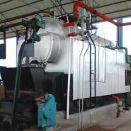 卧室燃煤蒸汽热水锅炉图片