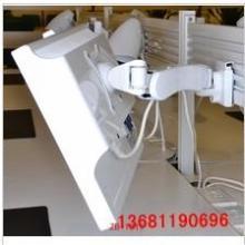 供应 多屏显示器支架白色万向支架图片