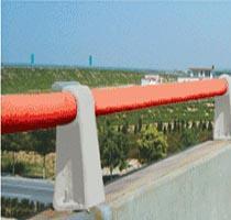 供应青海防撞护栏支架-铸铁护栏支架-高速公路护栏支架图片