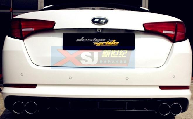 汽车改装用品公司生产供应起亚k5专   起亚k5改装 排气管 2.高清图片