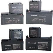 12V山特铅酸电池图片