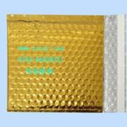 金色镀铝膜复合信封气泡袋图片