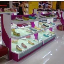 广州童鞋中岛柜、儿童鞋子展示柜、儿童鞋架、童鞋展示货架生产制造厂批发