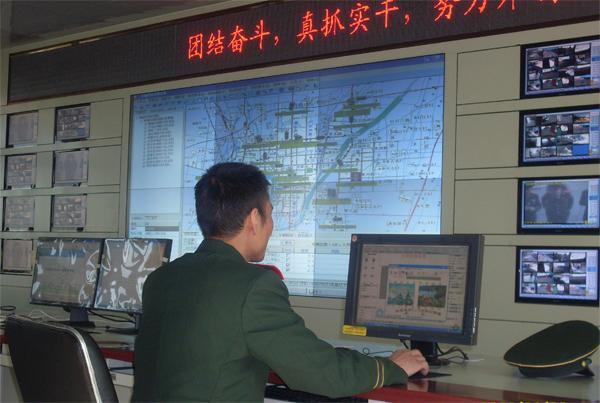 供应消防指挥中心拼接大屏幕