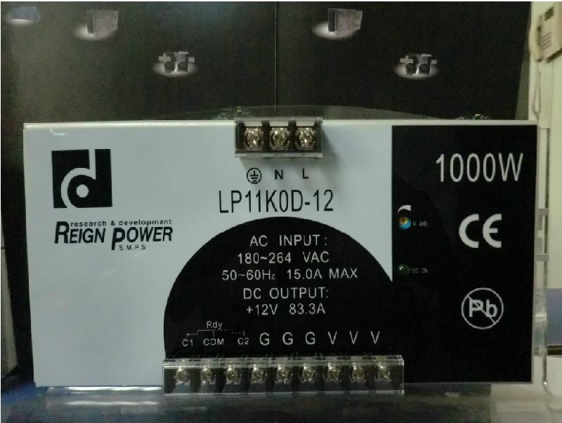 12V开关电源 RP11K0D-12 1000W 83.3A