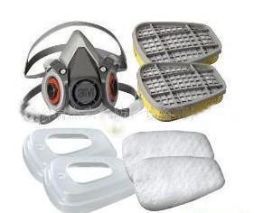 6100/6200防尘防毒半面具图片