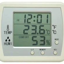 时间温度湿度同屏显示温湿度计