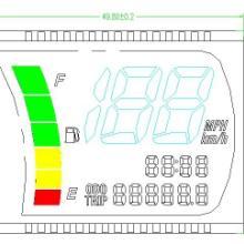 供应电动车仪表液晶屏研发