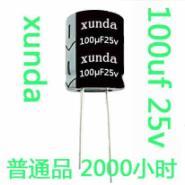 插件电解电容器体积10×16或201000uF25vLED驱动电容