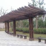 供应吉安最大的防腐木花箱批发市场