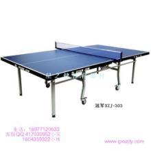 供应冠军乒乓球台广西体育器材商家直销批发