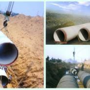 西安钢承口水泥管道图片