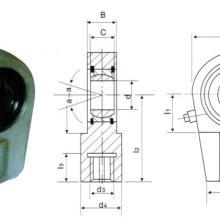供应油缸轴承GK140NK油缸耳环轴承大型关节球轴承批发