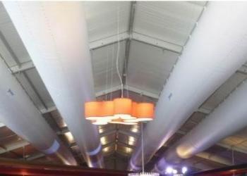 大幅面布袋风管专用切割机报价图片