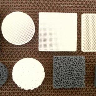 曲轴铸造用陶瓷过滤网图片