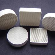 铸铝用陶瓷过滤网图片