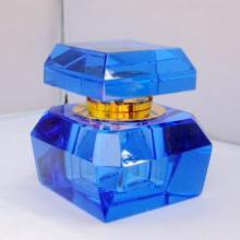 供应异形水晶香水瓶多角水晶香水瓶水晶香水座厂家水晶香水瓶大量批发