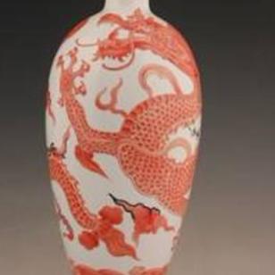 龙年瓷器YS龙吟中华福瓶图片