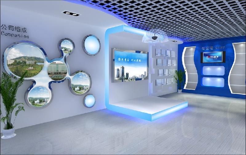 应甘肃展厅部队装修1,甘肃国外建筑设计所展厅部队设计制作,部图片