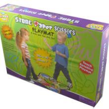 供应石头剪刀布游戏毯儿童益智玩具婴儿音乐玩具电玩魔毯子批发