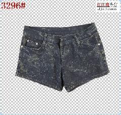 2011女装新品夏装气质牛仔裤图片/2011女装新品夏装气质牛仔裤样板图 (1)
