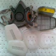 3M6200防毒面具面罩厂家图片