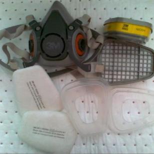 3M6200防毒面具组合图片