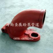 海南三一泵车一号铰链弯管供货价格图片