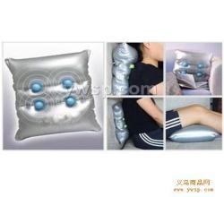 震动按摩枕电动按摩靠枕批发图片
