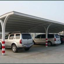 供应义乌钢结构钢架车棚