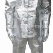 全铝隔热工作服涂铝隔热服图片