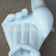 专业生产PVC充气手掌 各种充气产品图片