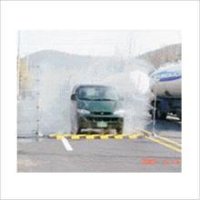 供应简易车辆消毒通道