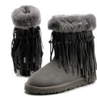 流苏雪地靴迷你唐卡女士单鞋秋冬季