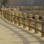 长沙防腐木栏杆/护栏亭子葡萄架图片