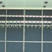 手摇升降晾衣架扇形系列图片