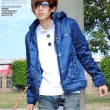 供应2011新款韩版可脱卸帽时尚棉衣