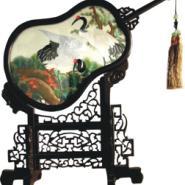 仙鹤蜀绣图片
