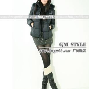 2011新款冬装棉衣批发图片