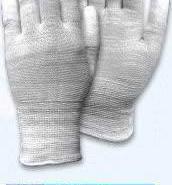 13针防静电尼龙PU涂指手套图片