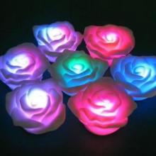 供应厂家直销LED七彩声控蜡烛灯 LED蜡烛灯 声控蜡烛灯迷你蜡烛灯