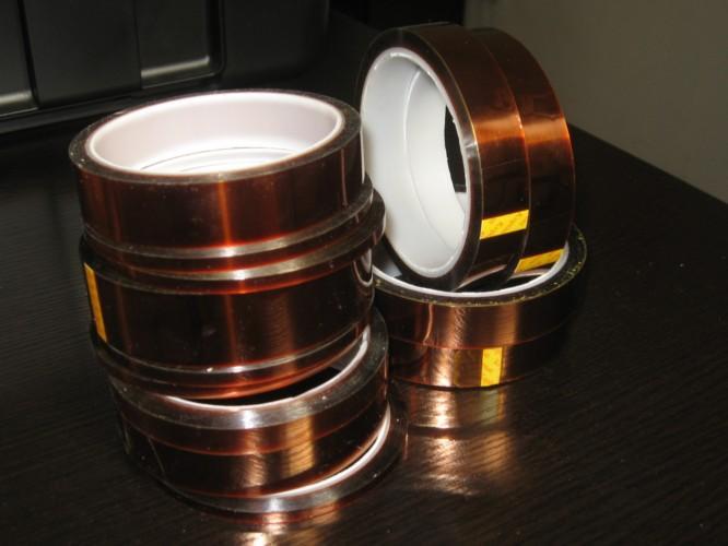 供应聚酰亚胺胶带,高温KAPTON胶带,变压器专用高温胶带
