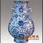 陶瓷瓷板画-陶瓷大花瓶-青花瓷图片