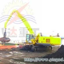 供应港口码头履带移动式抓斗吊机抓料机