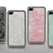 苹果水晶石纹保护壳ipega苹果配件图片