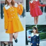 杭州的服装批发短款小棉袄无锡服装图片