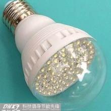 供应50珠LED球泡灯配透明罩